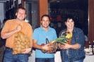 3 glückliche Preisträger vom Erntedankschießen 2006